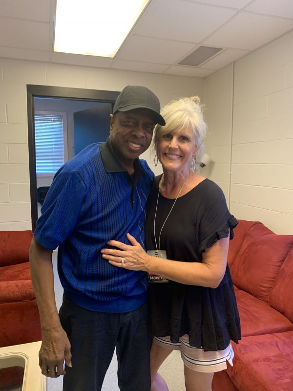 Original Member of the Spinners, Henry Fambrough with me after an interview. 83 years young! He's still got it going on!